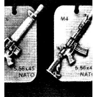 Pins in Metallo di Armi